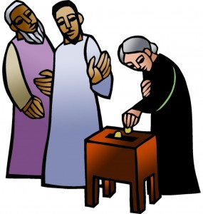 Icon1 Lectionary 32B (Color) (Clip Art)